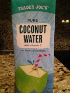 TJ Coconut water