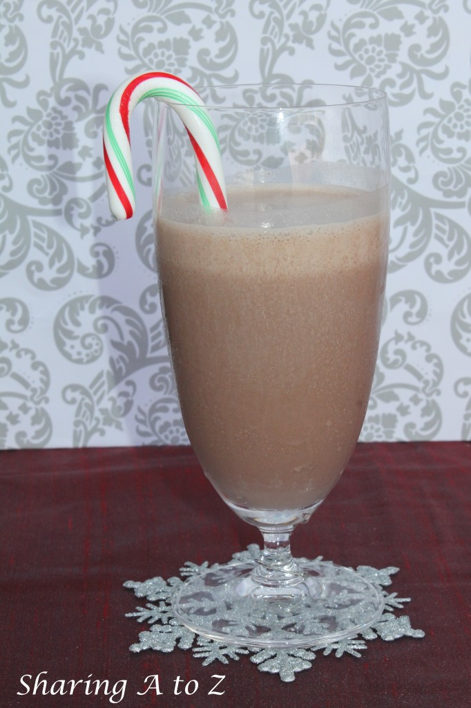 Peppermint smoothie
