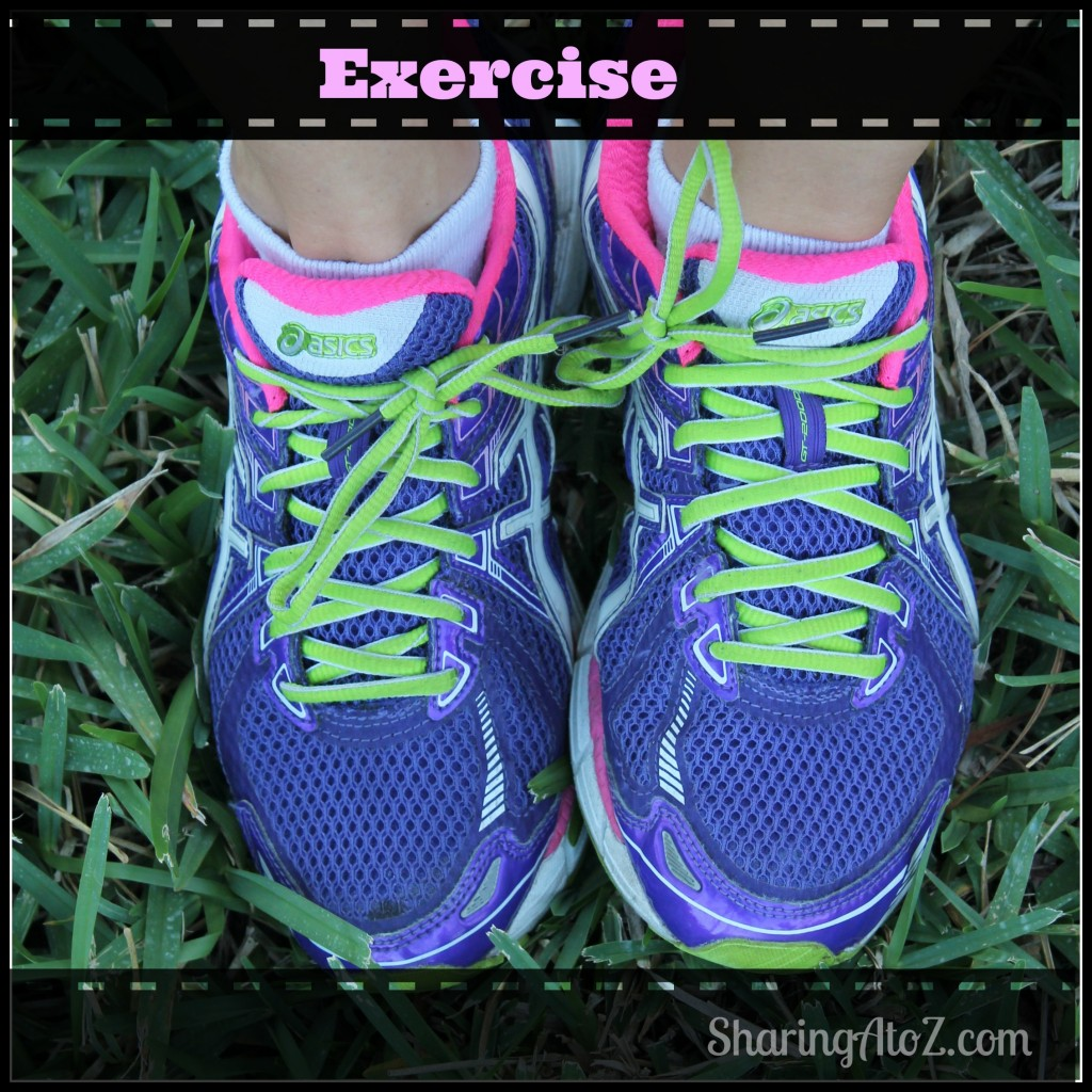 Exercise plays a big part in getting healthy.
