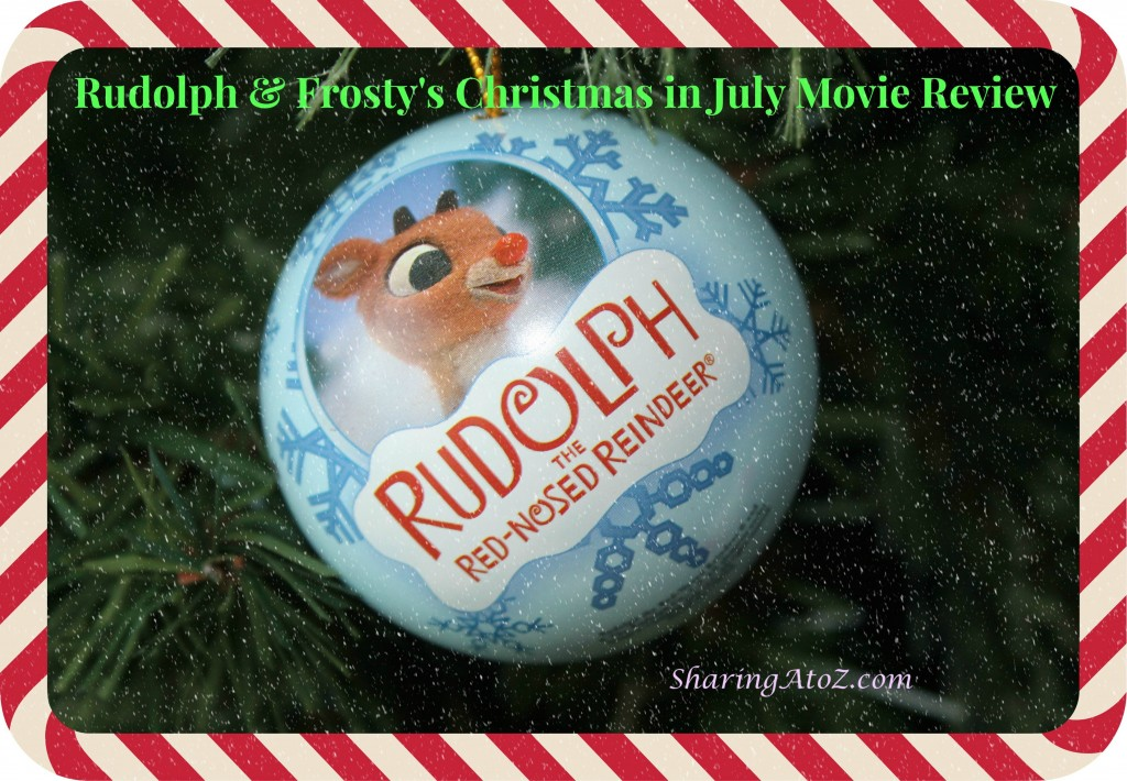 Rudolph review with snow