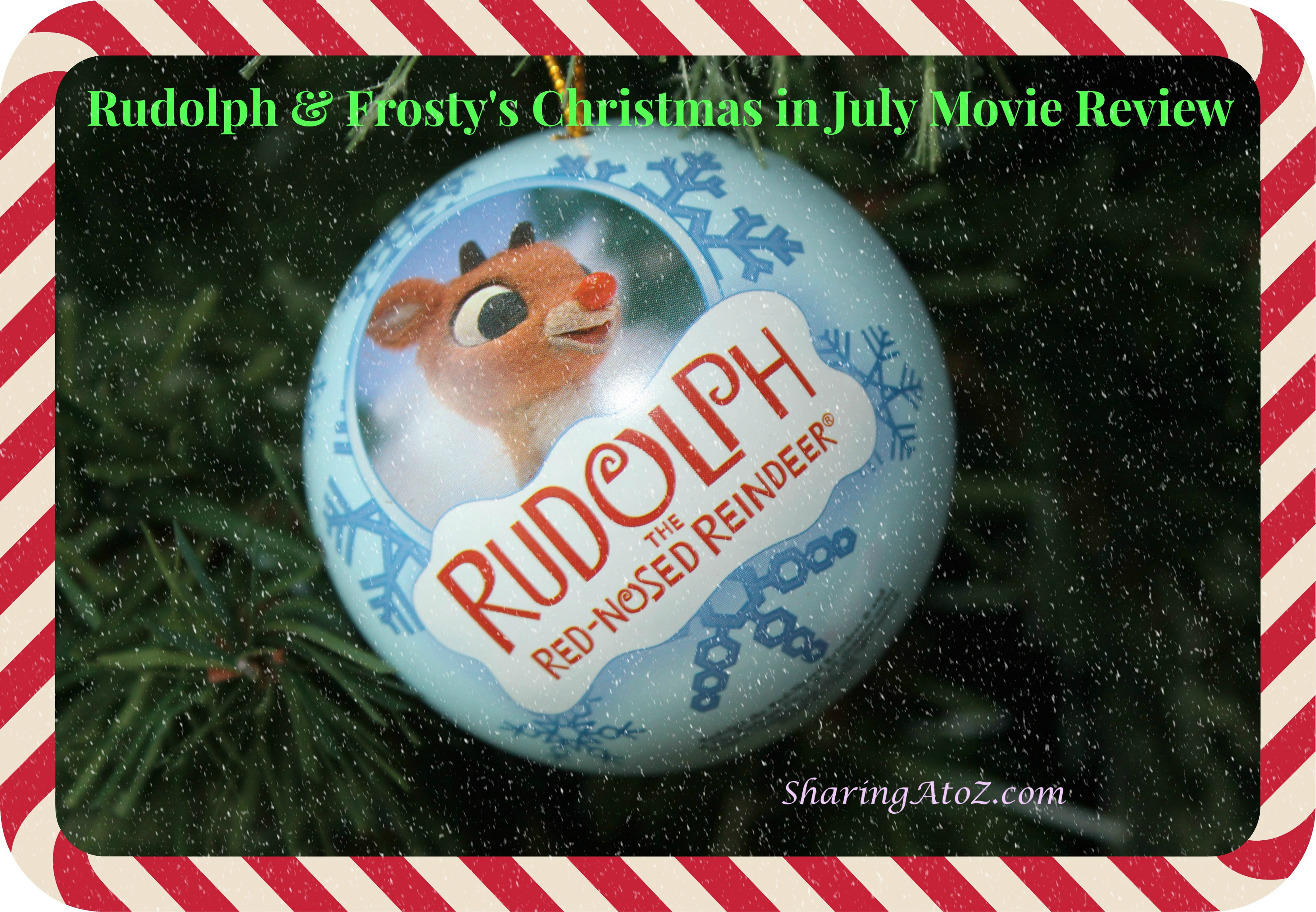 Rudolph And Frostys Christmas In July Dvd.Rudolph Frosty S Christmas In July Movie Review Sharing