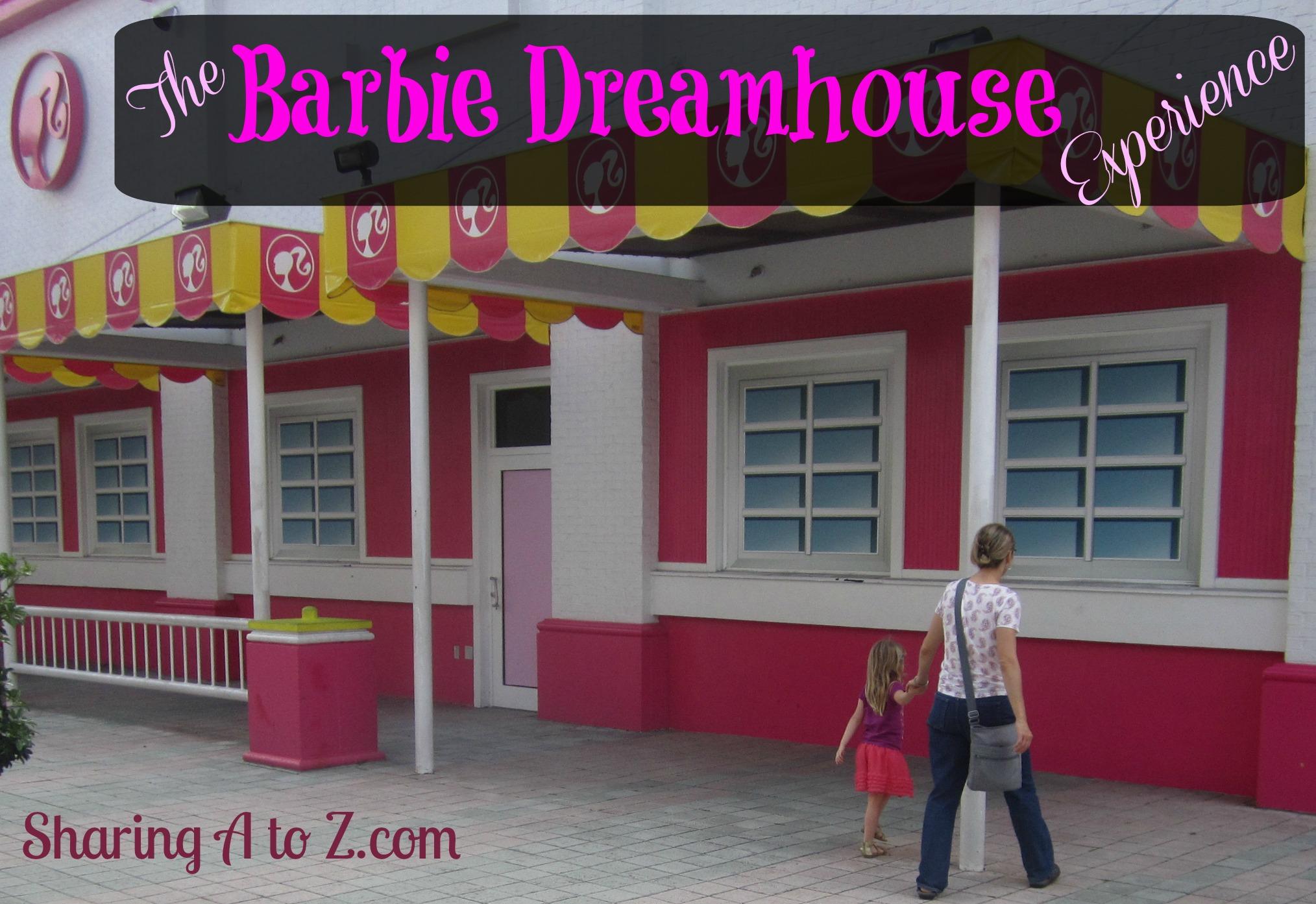 Barbie dream house experience tickets for Dreamhouse com