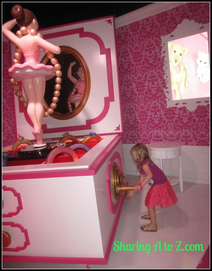 Barbie music box
