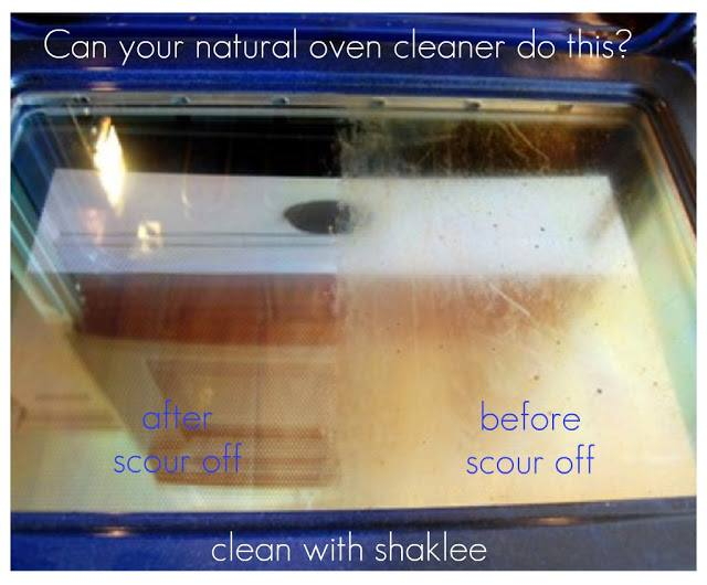 natural cleaners for the stove