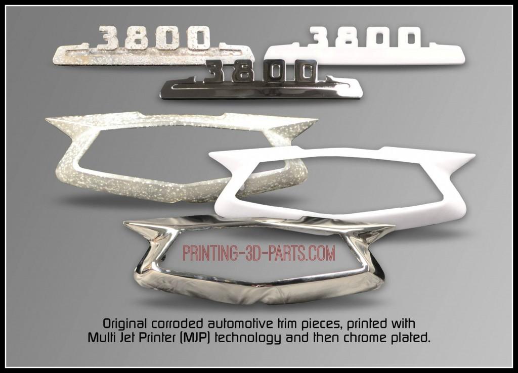 auto trim printing 3D parts