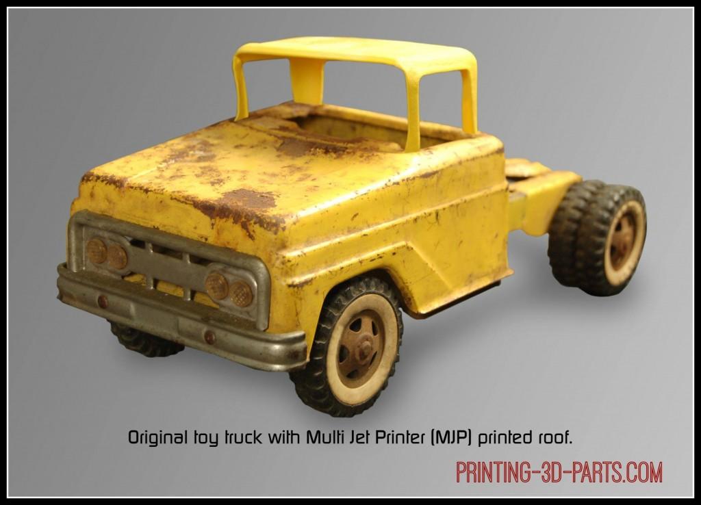 toy truck 3D parts