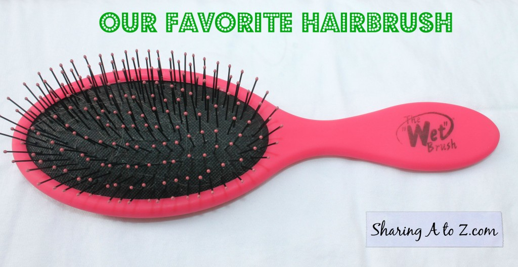 favorite hairbrush