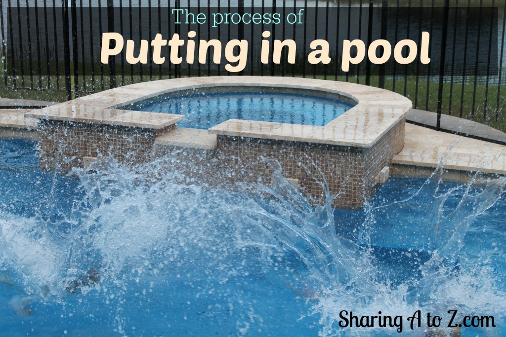 putting in a pool