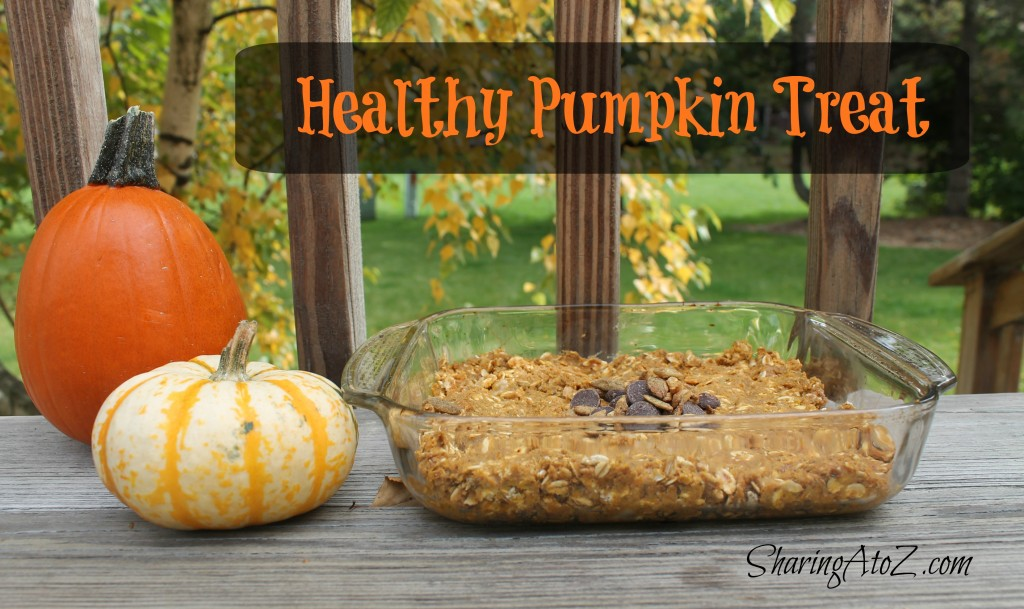 healthy pumpkin treat