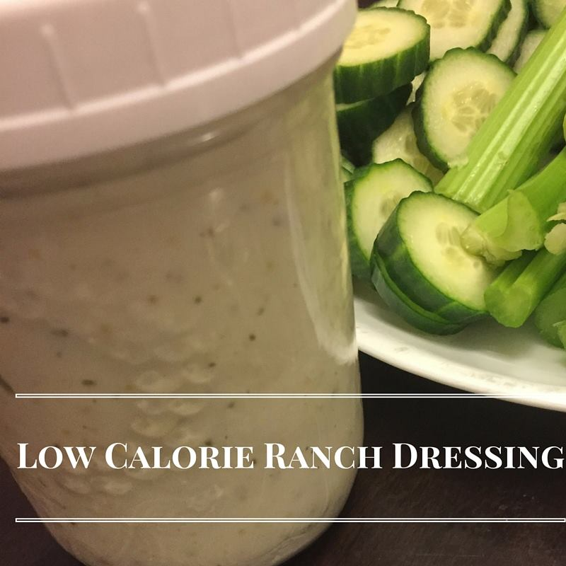 low calorie ranch dressing