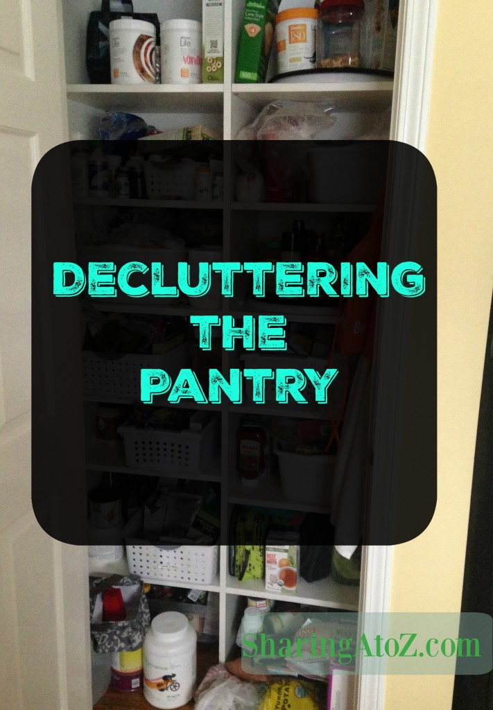 declutter the pantry
