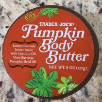 pumpkin body butter